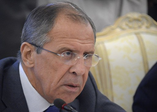 لافروف: المعارضة السورية تمتلك اسلحة كيميائية