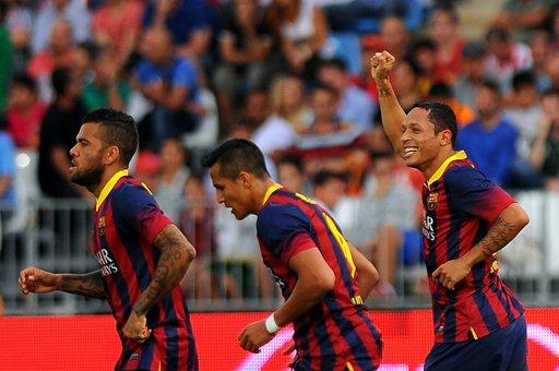 برشلونة يعود بثلاث نقاط ثمينة من أرض الميريا