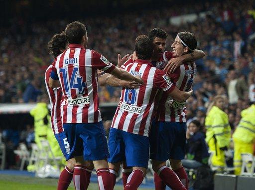 دربي مدريد... أتلتيكو يهزم الريال في عقر داره