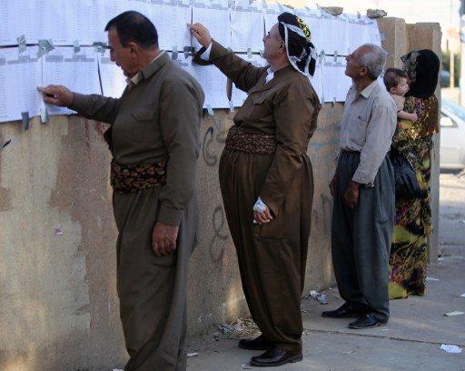 حزب بارزاني يفوز بالإنتخابات البرلمانية في إقليم كردستان