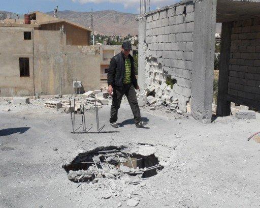 إصابة 3 عسكريين لبنانيين بسقوط قذيفة مصدرها سورية