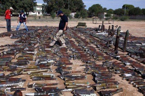 روسيا تؤكد على ضرورة منع وصول السلاح الليبي إلى الإرهابيين