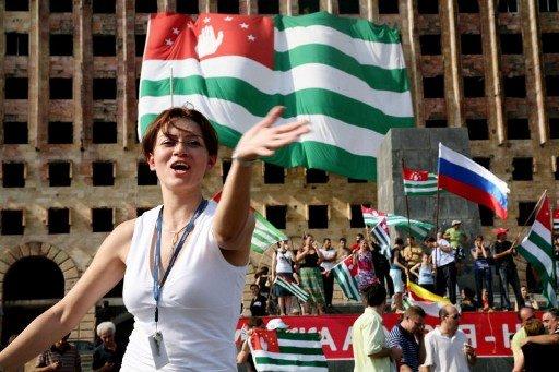 أبخازيا تحتفل بمرور 20 عاما على استقلالها عن جورجيا