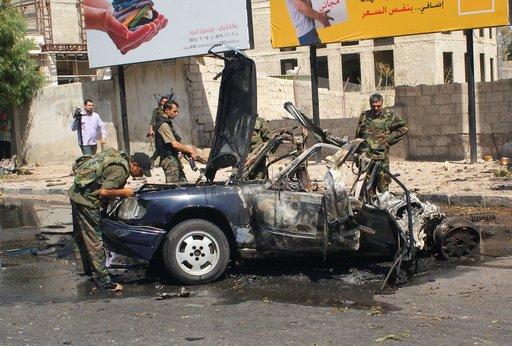 إصابة موظف بعد استهداف السفارة الصينية في دمشق.. ومقتل 3 في تفجير انتحاري بالريف الغربي للعاصمة