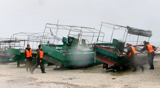 75 مفقودا في حادث غرق 3 سفن صيد في بحر الصين الجنوبي