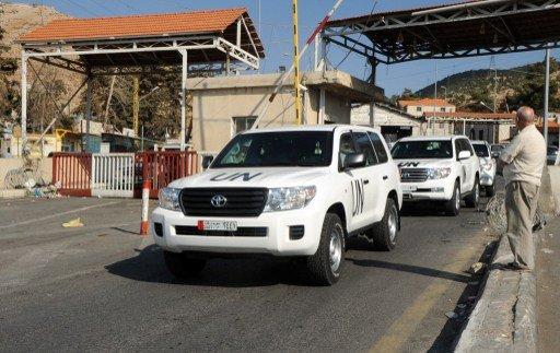 وصول خبراء نزع السلاح الكيميائي إلى بيروت تمهيدا للدخول إلى سورية