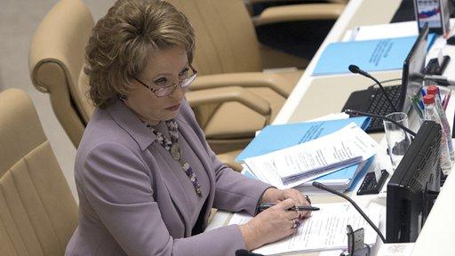 رئيسة مجلس الاتحاد الروسي: تهجير المسيحيين من سورية سيصبح كارثة للحضارة العالمية كلها