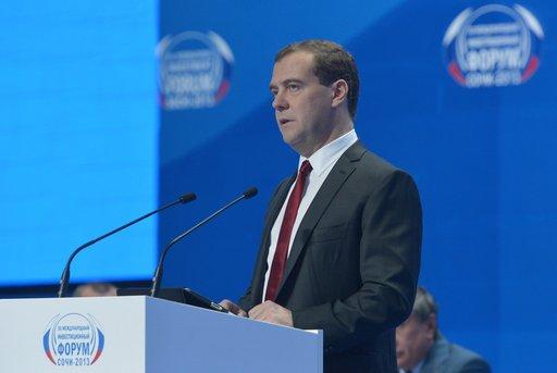 مدفيديف: روسيا ستخصص نحو ملياري دولار لدعم المشاريع الصغيرة