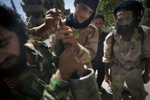 سقوط عدد من القذائف الصاروخية على بلدة السقيلبية ذات الغالبية المسيحية بريف حماة