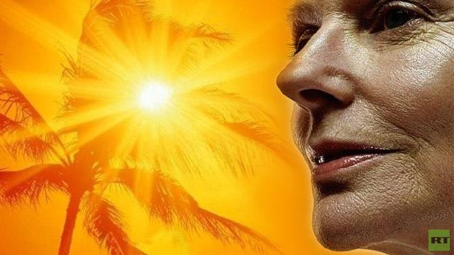 دراسة التعرض الشمس باستمرار علامات الكبر