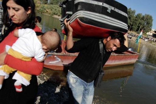 روسيا ترسل مساعدات إنسانية للاجئين السوريين في العراق