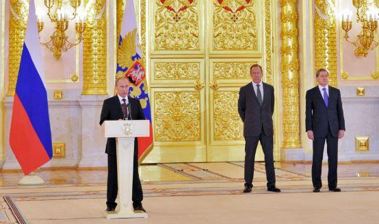 بوتين يعتبر التحضير لمؤتمر جنيف -2 نجاحا للمجتمع الدولي برمته