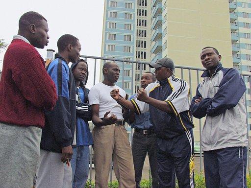 احتجاز 16 طالبا من نيجيريا بعد اعتصامهم في السفارة النيجيرية بموسكو