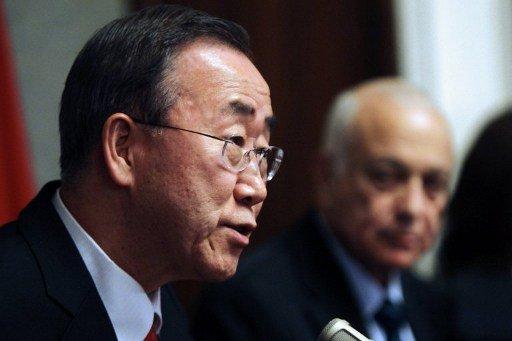 بان كي مون يأمل في نجاح المبادرة الخاصة بكيميائي سورية وتحقيق انفراج في التسوية الدبلوماسية