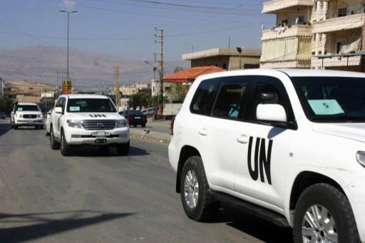 وصول فريق خبراء نزع السلاح الكيميائي إلى دمشق