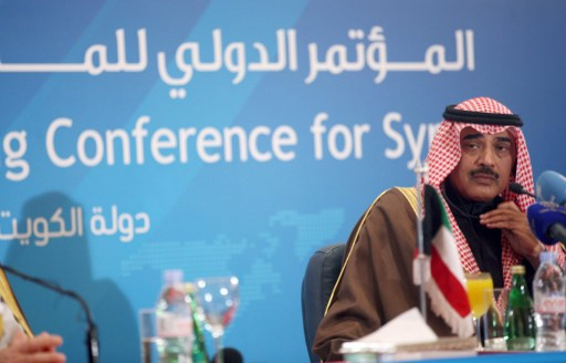 بان كي مون يدعو أمير الكويت إلى استضافة المؤتمر الثاني للمانحين لدعم سورية