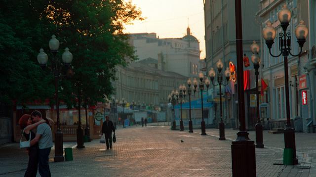 أقدم شارع في موسكو يحتفل بيوبيله