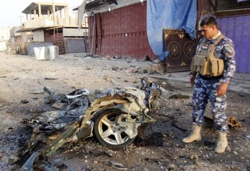 مقتل 8 عراقيين وأصابة 40 آخرين في هجمات تستهدف بغداد وكركوك والموصل وتكريت
