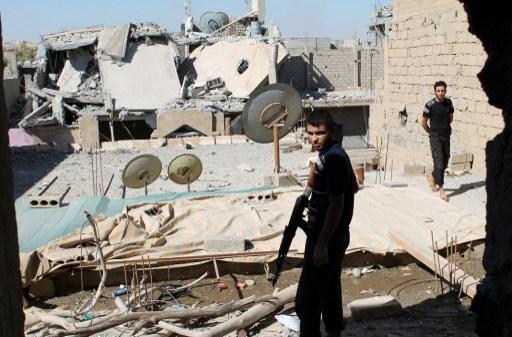 الحلقي يقدر الأضرار الناجمة عن النزاع في سورية بـ16.5 مليار دولار