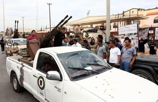 اغتيال عقيد في البحرية الليبية في مدينة بنغازي