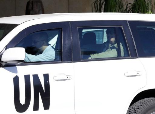مراسلنا: مفتشو الأمم المتحدة بدأوا بتفكيك أسلحة كيميائية في سورية