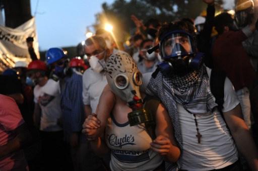 منظمة العفو الدولية تتهم السلطات التركية بانتهاك حقوق الإنسان أثناء قمع الاحتجاجات
