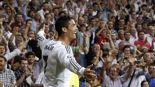 رونالدو يحرز في مباراته رقم 100 هدف ريال مدريد رقم 500