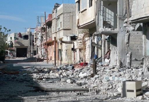 مقتل 8 أشخاص واصابة 24 آخرين بهجوم بقذائف هاون على القصاع في دمشق