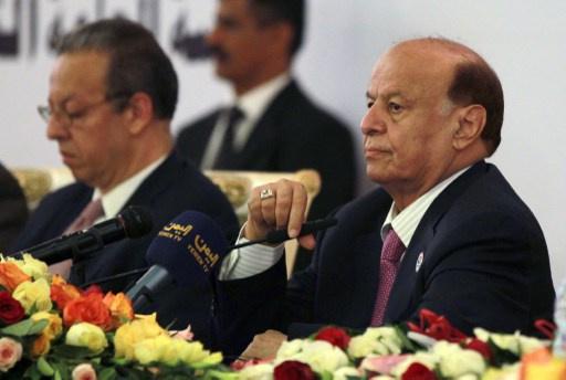 الرئيس اليمني يؤكد عزمه على محاربة الإرهاب بحزم وقوة