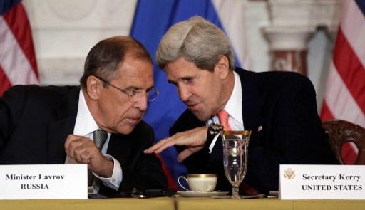 لافروف وكيري يوقعان اتفاقية روسية امريكية لتحييد المخاطر النووية