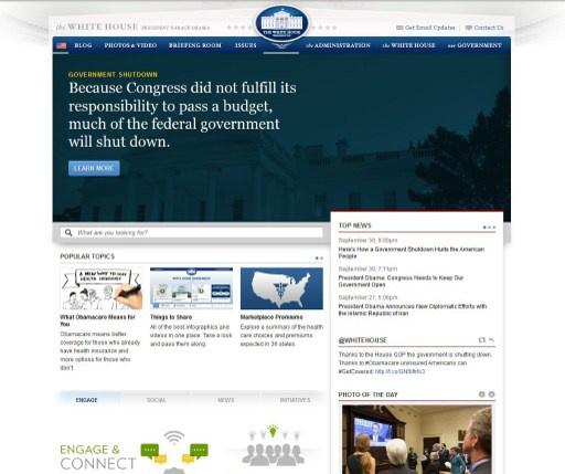 توقف عمل موقع التأمين الصحي الأمريكي بسبب ارتفاع هائل بعدد متصفحيه