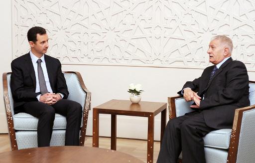 الأسد يؤكد مركزية القضية الفلسطينية لسورية