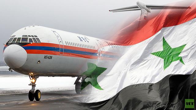 76 من مواطني روسيا وسورية والدول المستقلة يغادرون اللاذقية الى موسكو