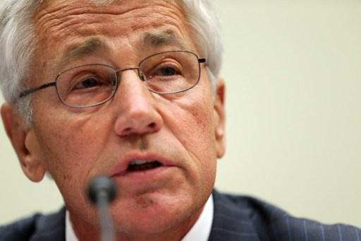 هيغل: واشنطن لن تتراجع عن سياستها الحازمة لمنع ايران من الحصول على اسلحة نووية