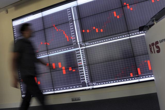 أزمة الميزانية الأمريكية تلقي بظلالها على أسواق الأسهم الروسية