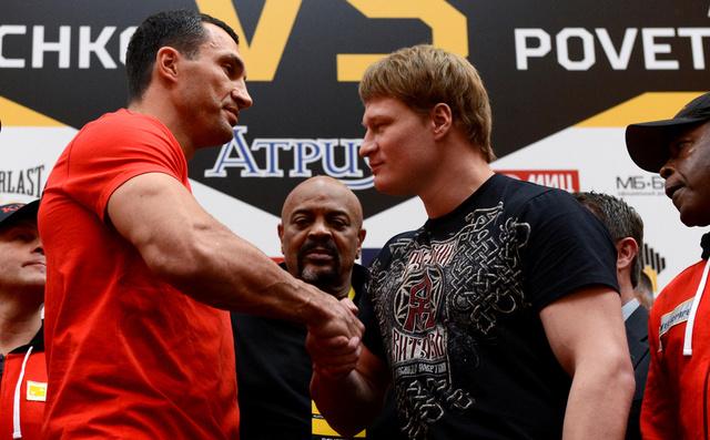 الملاكم الروسي بوفيتكين يأمل رد