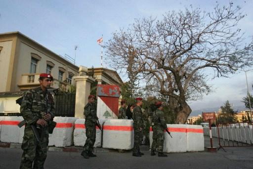القضاء اللبناني يدعي على 12 شخصاً بتهمة التخطيط لاغتيال شخصيات موالية للحكومة السورية