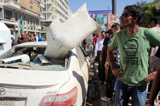 انفجار بالقرب من القنصلية السويدية في بنغازي