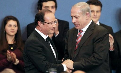 هولاند يؤكد لنتنياهو حزمه تجاه برنامج إيران النووي