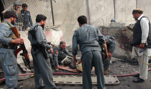 مقتل شرطيين واصابة 8 آخرين بجروح في تفجير انتحاري بجلال آباد الأفغانية