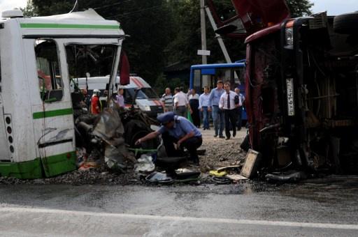 مقتل 13 شخصا في حادث مرور بمقاطعة سامارا الروسية