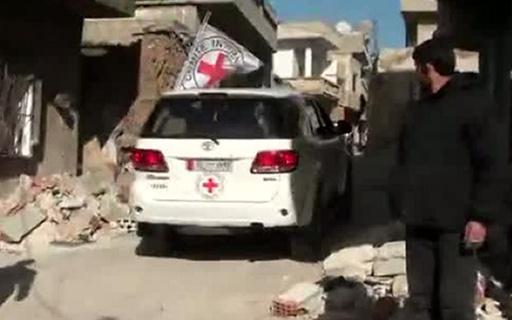 اختطاف 6 موظفين في الصليب الأحمر ومتطوع من الهلال الأحمر بسورية