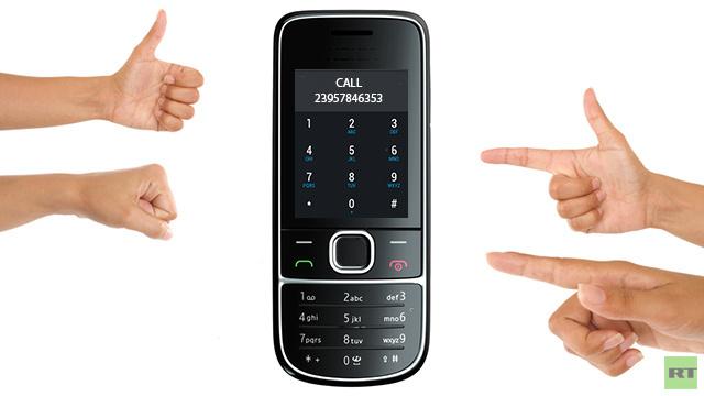 هواتف تتعلم قراءة إشارات يد الإنسان بواسطة الموجات فوق الصوتية