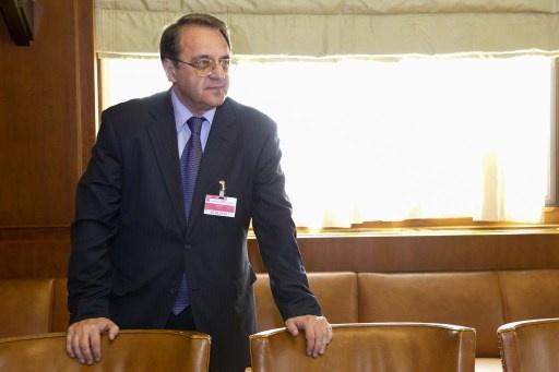 نائب وزير الخارجية الروسي يبحث آفاق تسوية الأزمة في سورية مع ممثلين عن المعارضة السورية الداخلية