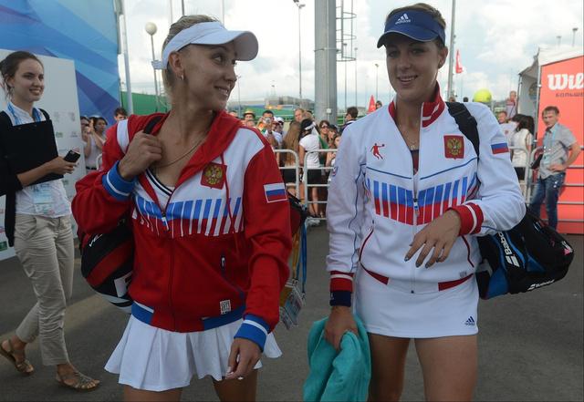 الروسيات يتألقن في مستهل بطولة الكرملين للتنس