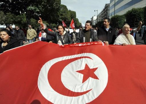 جبهة الإنقاذ الوطني في تونس تدعو إلى احتجاجات شعبية