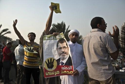 مظاهرات محدودة لأنصار مرسي عقب صلاة العيد
