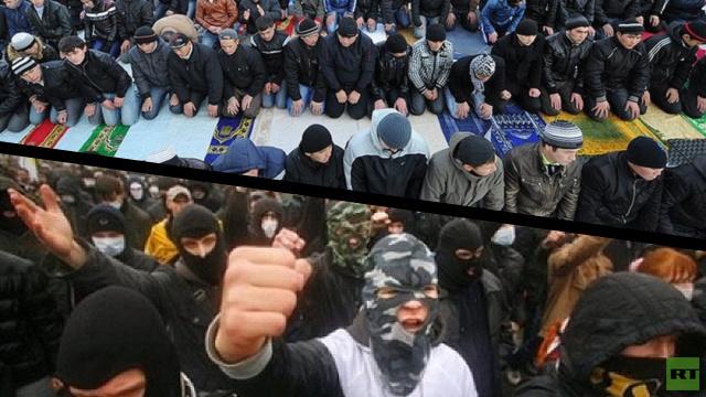 الشرطة الروسية: القوميون حاولوا إثارة أعمال شغب في بطرسبورغ خلال احتفالات عيد الأضحى
