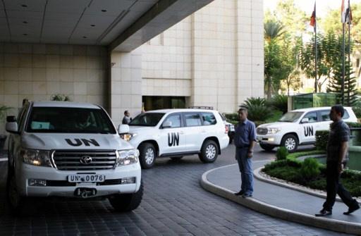 خبراء حظر الأسلحة الكيميائية يتفقدون 11 موقعا في سورية