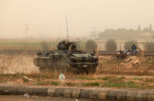 الجيش التركي يعلن قصفه مواقع لجماعات مرتبطة بـ